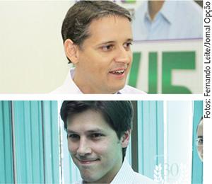 Thiago Peixoto e Daniel Vilela: cotados para ser os mais bem votados