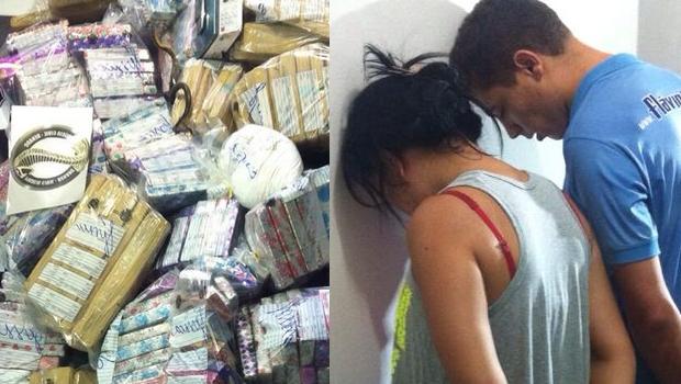 Droga apreendida seria distribuida em Goiás e no Entorno do DF | Foto: Bianca Cruz