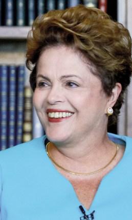 Dilma Rousseff: o poste de Lula cresceu, ganhou certa autonomia, mas ainda precisa do líder máximo. Seu principal problema é a insatisfação das classes médias, que, endividadas, querem consumir mais, porém esbarram na redução do crédito bancário|Foto: Ichiro Guerra/ Dilma 13