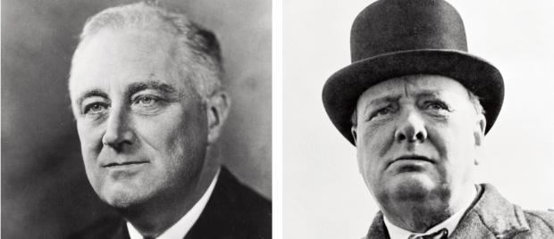 Franklin Roosevelt, líder do Partido Democrata: o presidente norte-americano foi  reeleito quatro vezes porque apostava na esperança e na construção. Ele investiu  forte na recuperação da economia e do homem e apostou no Estado como indutor l Winston Churchill: o grande primeiro-ministro ganhou a SegundaGuerra Mundial para a  Inglaterra (e para os Aliados), mas perdeu a eleição seguinte, porque seu adversário  trabalhista era visto como agente da construção e ele como um agente da destruição