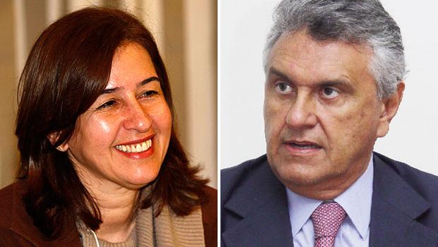 Ao defender ações do governo federal, Marina Sant'Anna diz que Ronaldo Caiado é um partidário fanático