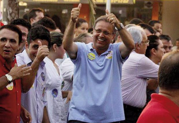 Marcelo Miranda venceria ainda no primeiro turno, de acordo com pesquisa / Foto: Facebook