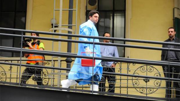 Ppaciente segue para o Instituto Nacional de Infectologia Evandro Chagas, referência nacional para casos de ebola | Foto: Tânia Rêgo/Agência Brasil