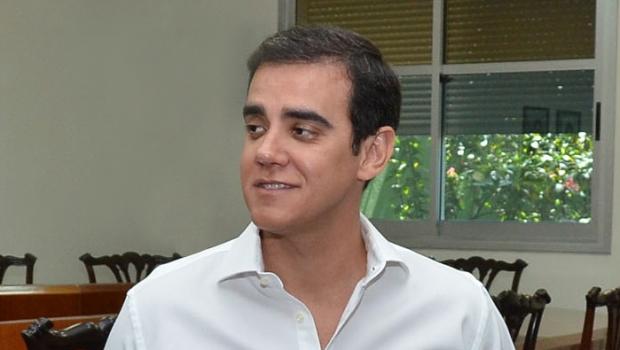 Iram Saraiva Júnior: além de declarar apoio à reeleição de Marconi Perillo, fez acusações contra ex-aliado Iris Rezende | Foto: Divulgação