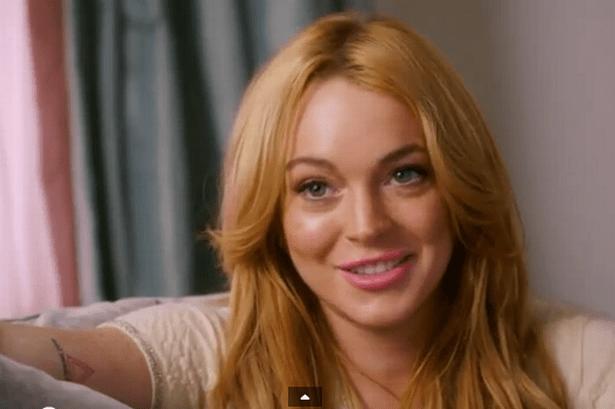 Atriz Lindsay Lohan declara apoio a Aécio Neves