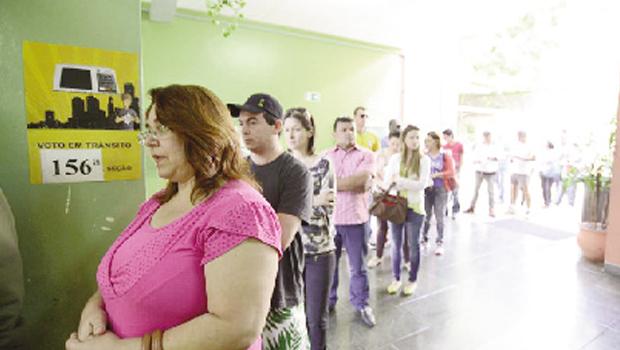 Universo de eleitores das pesquisas pode não ser o mesmo da votação efetiva: distorção | Foto: Erick Pinheiro