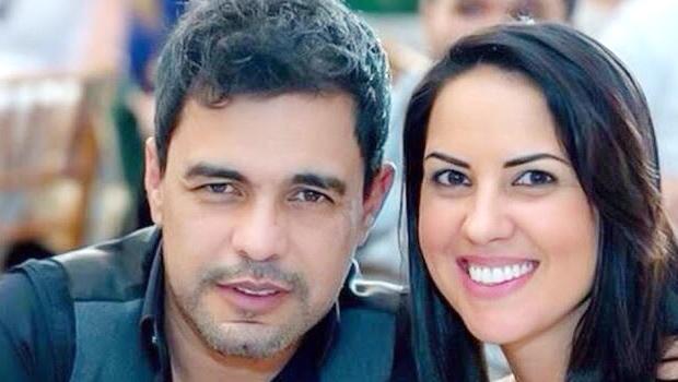 Zezé de Camargo e a namorada, Graciele Lacerda | Foto: Divulgação