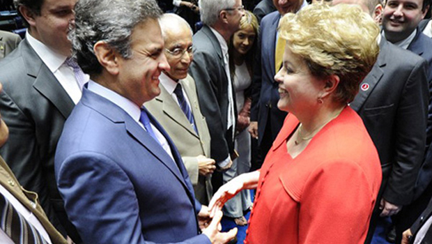 Dilma Rousseff aparece em 1º lugar na disputa ao Senado em MG. Aécio em 2º