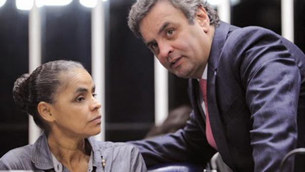 """""""Deu desespero"""", disse Aécio sobre mal súbito de Dilma"""