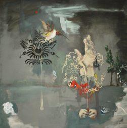 Sem título, 80 x 80 cm, óleo sobre tela, 2013.