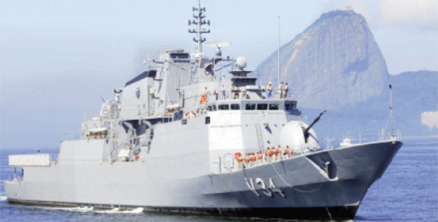 Corveta brasileira da classe Barroso: base industrial do País será aproveitado na construção de navios modernos