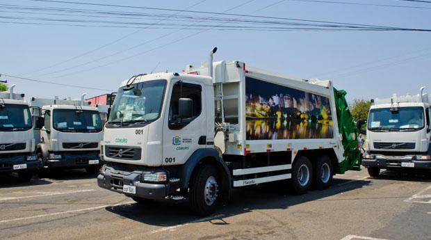 Prometida há mais de três meses, frota de 40 novos caminhões de lixo será entregue pela prefeitura nesta 4ª-feira