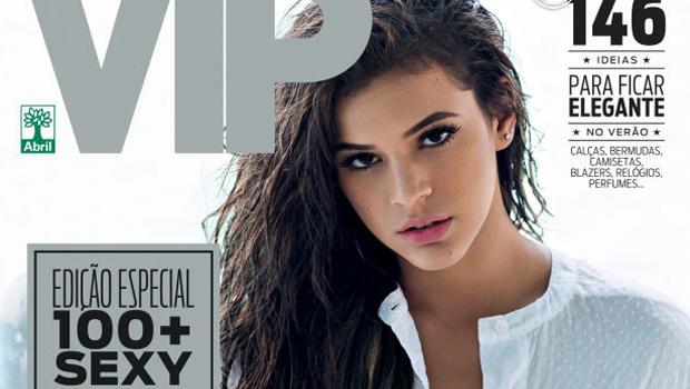 Veja fotos: Bruna Marquezine é capa de revista masculina
