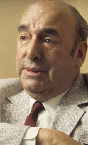 Pabro Neruda, um dos destaques do o I Congresso Nacional de Intelectuais. O evento foi um marco para a cultura goiana e de grande significado para a cultura brasileira