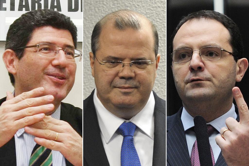 Joaquim Levy assume a Fazenda e Nelson Barbosa vai para o Planejamento