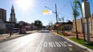 Corredor da Avenida 85 seguirá modelo da Rua 10 (foto) e da Avenida T-63 | Foto: Reprodução/Prefeitura de Goiânia
