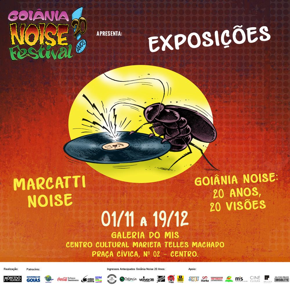 Goiânia Noise Festival é tema de exposição no MIS