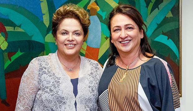 Kátia Abreu e Dilma Rousseff: além de ser amiga da presidente, a senadora tem credenciais para o cargo | Roberto Stuckert Filho/PR