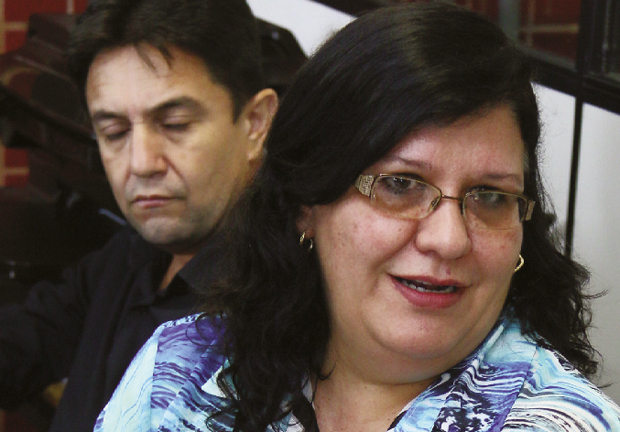 """Representante do BID, Cláudia Nery: """"O governo federal já autorizou ao banco fazer o aditivo de 24 meses no contrato de financiamento""""   Fernando Leite/Jornal Opção"""