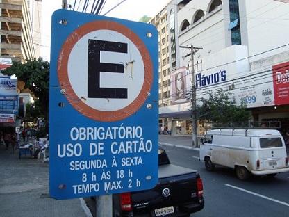 Em Goiânia, cartão da Área Azul tem aumento de 277% e chega a R$ 2,50