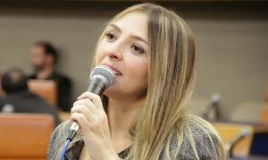 Tatiana Lemos (PCdoB) quer doação para instituições de assistência social | Foto: Divulgação/Câmara de Goânia