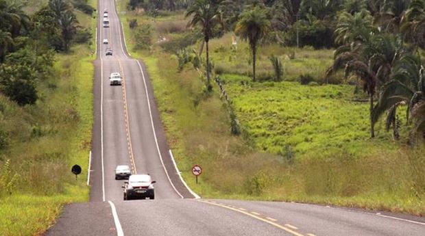 Rodovia BR-010 é estratégica para o Estado do Tocantins Foto: Divulgação