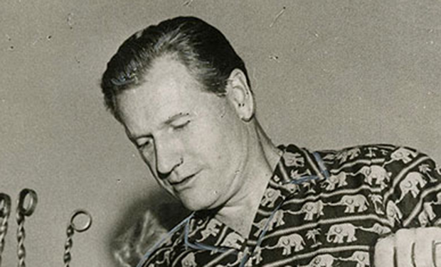 Nelson Rockefeller, durante uma de suas viagens pelo Brasil, em 1958
