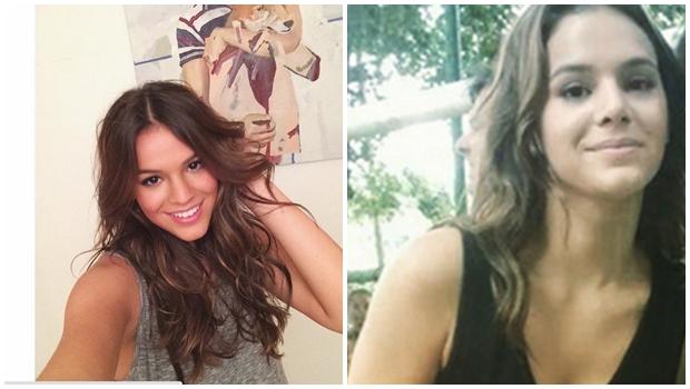 Bruna Marquezine aparece em fotos no Instagram e fãs desconfiam de plástica no nariz