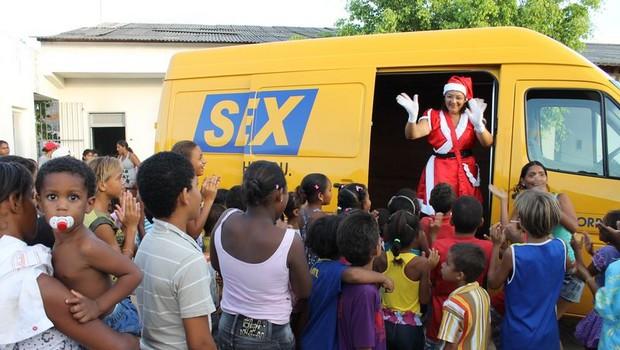 Campanha Papai Noel dos Correios termina nesta sexta-feira em Goiânia