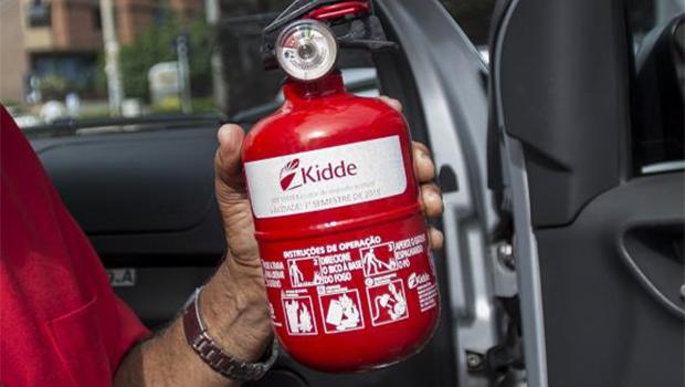 Uso de extintor do tipo ABC em veículos será obrigatório a partir de amanhã