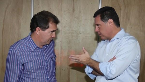 Prefeito João Gomes e o governador Marconi Perillo: relação que vai além da cordialidade | Foto: Henrique Luiz / Goiás Agora