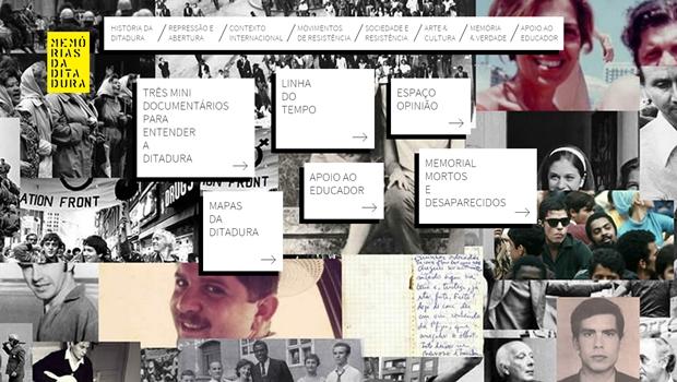 Governo lança portal Memórias da Ditadura com material didático para estudantes