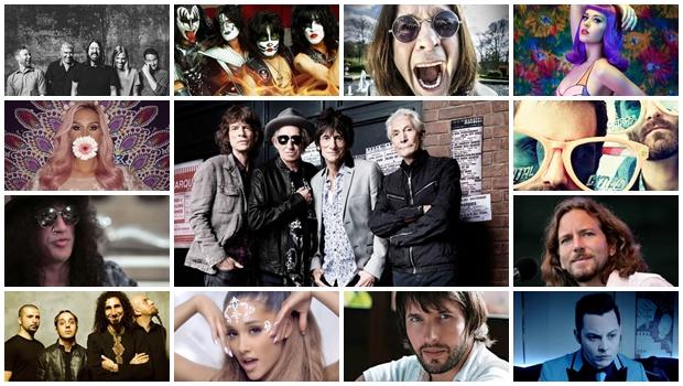 Veja lista de shows internacionais que irão marcar o Brasil em 2015