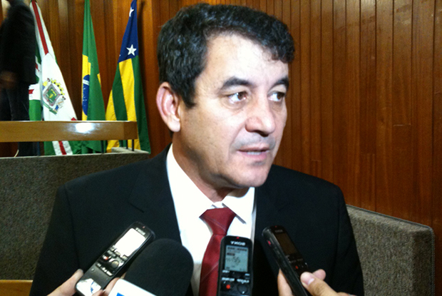 Clécio Alves encerrou sessão sem votar projeto | Foto: Marcello Dantas/Jornal Opção Online/Arquivo