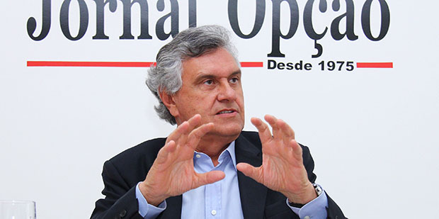 José Eliton e Ronaldo Caiado: os dois políticos, ex-aliados, poderão  se enfrentar na disputa de 2018. Ele se tornaram inimigos figadais
