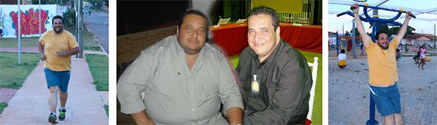 Carlos Vasques chegou perto de pesar 200 kg, fez a cirurgia bariátrica, teve reganho de peso, porém voltou ter hábitos saudáveis, seguir dieta balanceada e acompanhamento psicológico | Fotos: Fernando Leite/jornal Opção