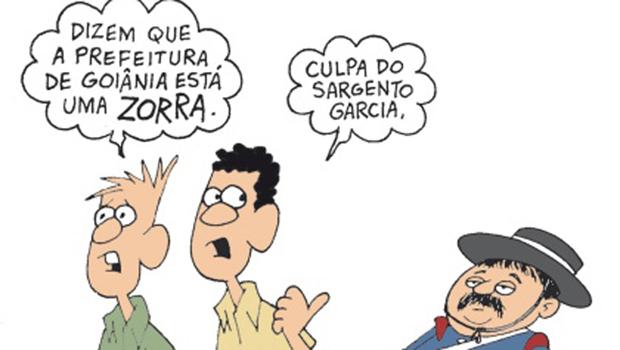 Ao se exaltar, petista Paulo Garcia deu repercussão a charge de Jorge Braga