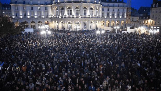 Marcha Republicana deve reunir mais um milhão de pessoas em Paris