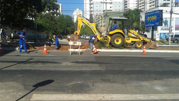 Avenida S-1 sofre alterações para se adequar ao corredor 85
