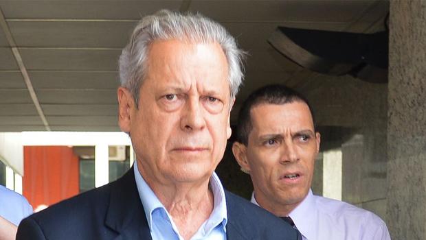 José Dirceu presta depoimento e nega indicação de Duque para a Petrobras