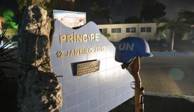 Porto Principe (Haiti) - Monumento  em homenagem aos militares mortos | Foto: Marcello Casal Jr./Agência Brasil
