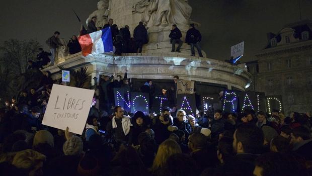 Líderes de vários países se unem à marcha contra o terrorismo na França