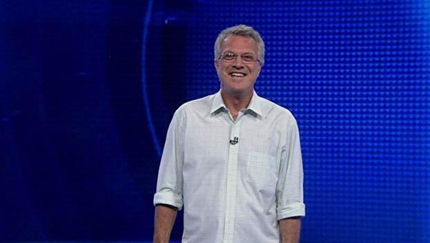 Apresentador do programa, Pedro Bial / Foto: Gshow/divulgação
