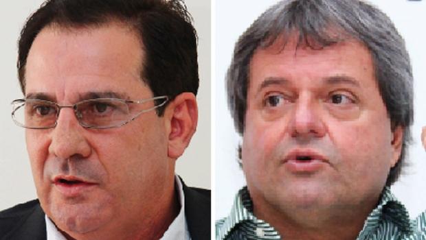 Vanderlan Cardoso e Jayme Rincón: os dois políticos, gestores na faixa dos 50 anos de idade, podem ser players tanto em 2016 quanto em 2018 | Fotos: Fotos: Fernando Leite/Jornal Opção