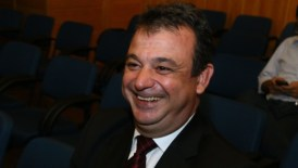 Candidato da presidêcia, Alexandre Prudente teve 43% dos votos |Foto: Fernando Leite / Jornal Opção