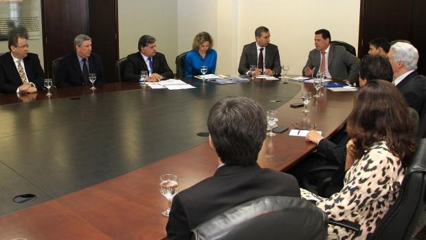 Reunião para a apresentação das diretrizes do plano de desenvolvimento | Foto: Wildes Barbosa