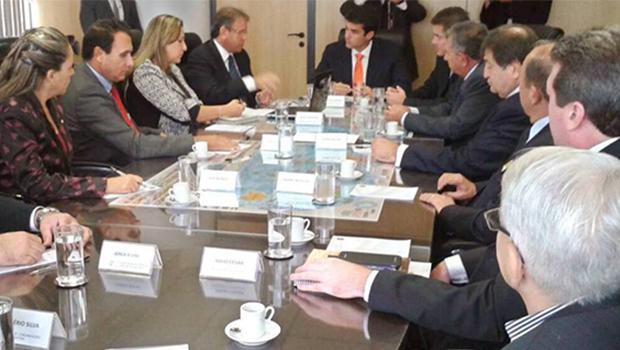 Marcelo Miranda vai a Brasília buscar recursos em oito ministérios