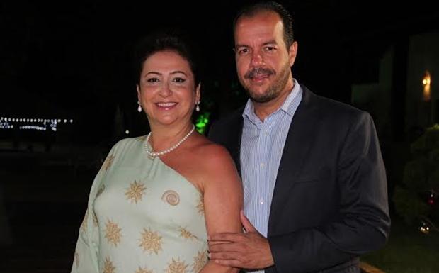 Katia Abreu e futuro marido, Moisés Pinto Gomes | Foto: reprodução / Portal Stylo