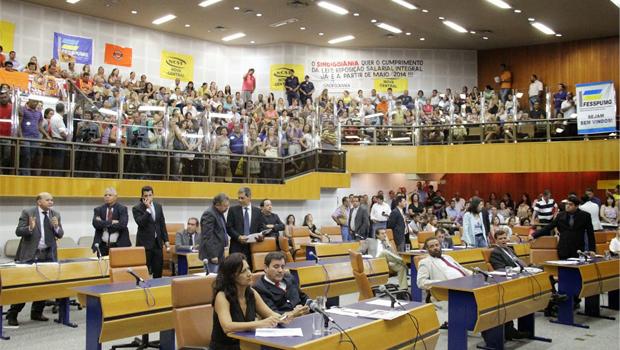 Câmara deve manter veto do prefeito Paulo Garcia ao projeto da data-base