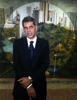 Líder do governo na Câmara, Carlos Soares aguarda novo projeto | Foto: Marcello Dantas/Jornal Opção Online